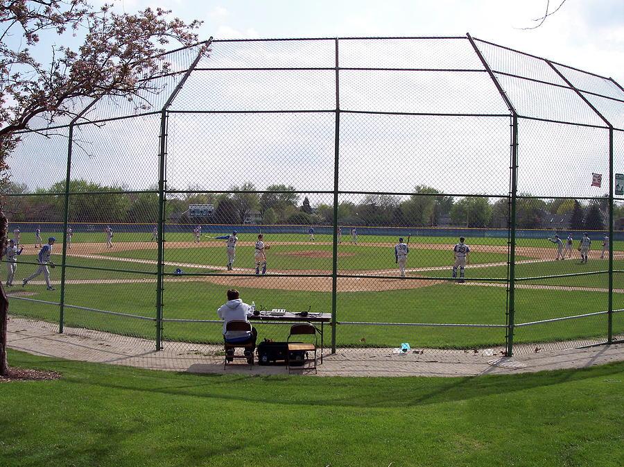 Baseball Warm Ups Photograph