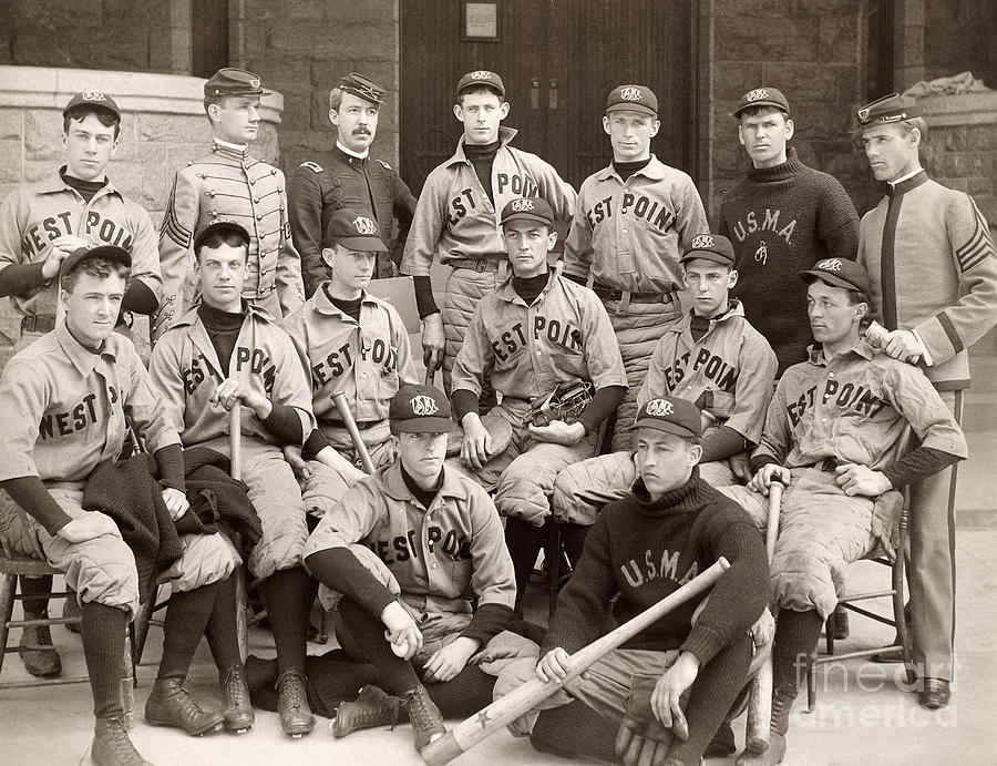 Baseball: West Point, 1896 Photograph