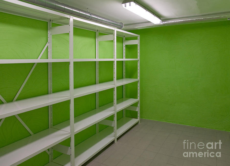 basement storage room is a photograph by jaak nilson which was