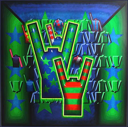 Basilea Star Painting - Basilea Star  by Mark Howard Jones
