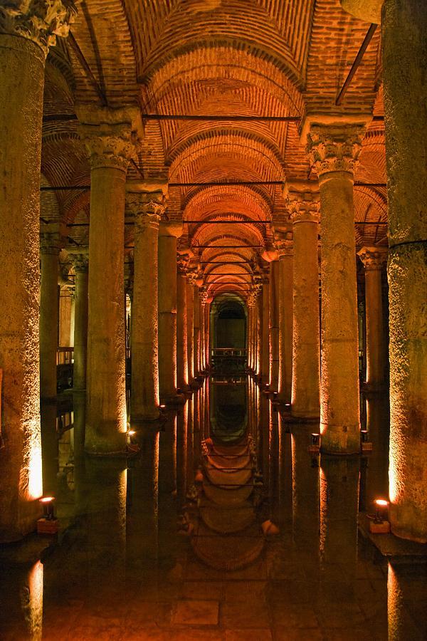 Basilica Cistern, Istanbul, Turkey Photograph by Carson Ganci