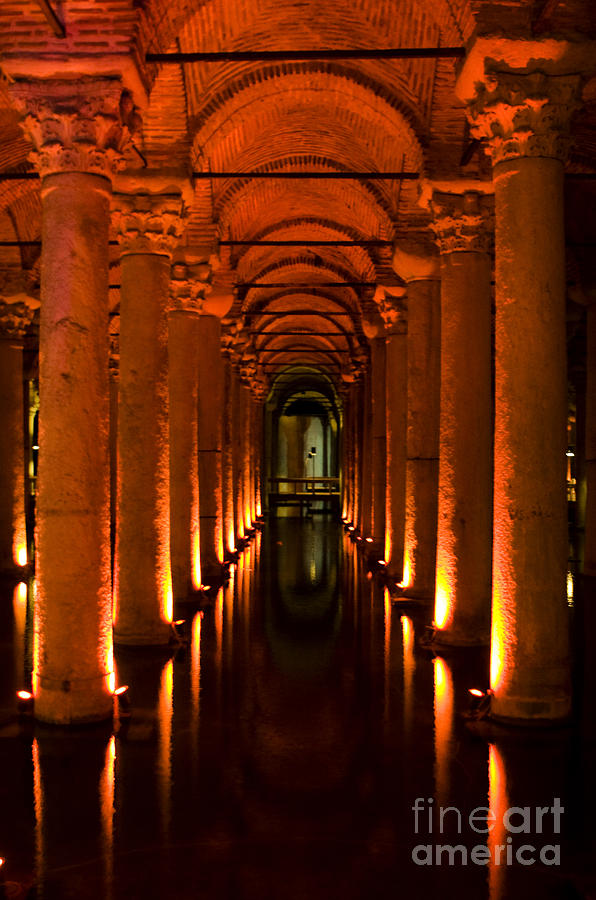 Basilica Cistern Photograph