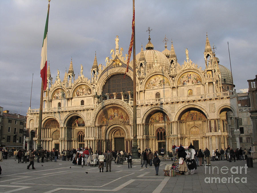 Basilica San Marco Photograph