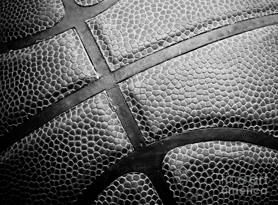 Basketball -black And White Photograph  - Basketball -black And White Fine Art Print