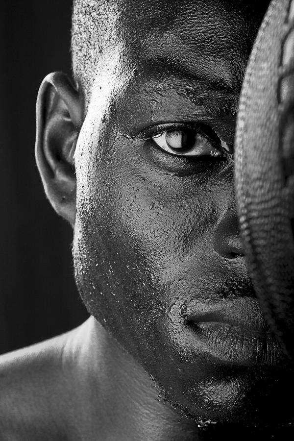 Basketball Player Close Up Portrait Photograph  - Basketball Player Close Up Portrait Fine Art Print