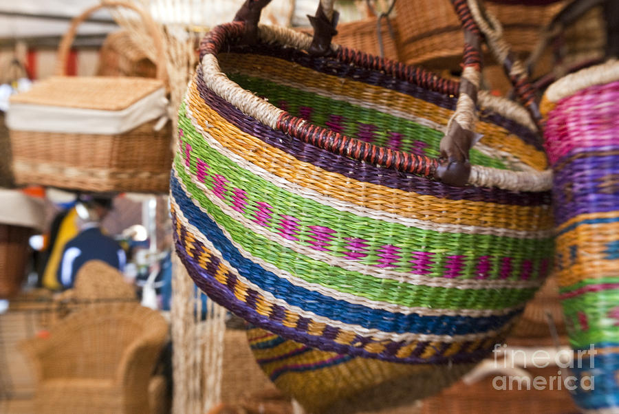 Baskets Photograph  - Baskets Fine Art Print