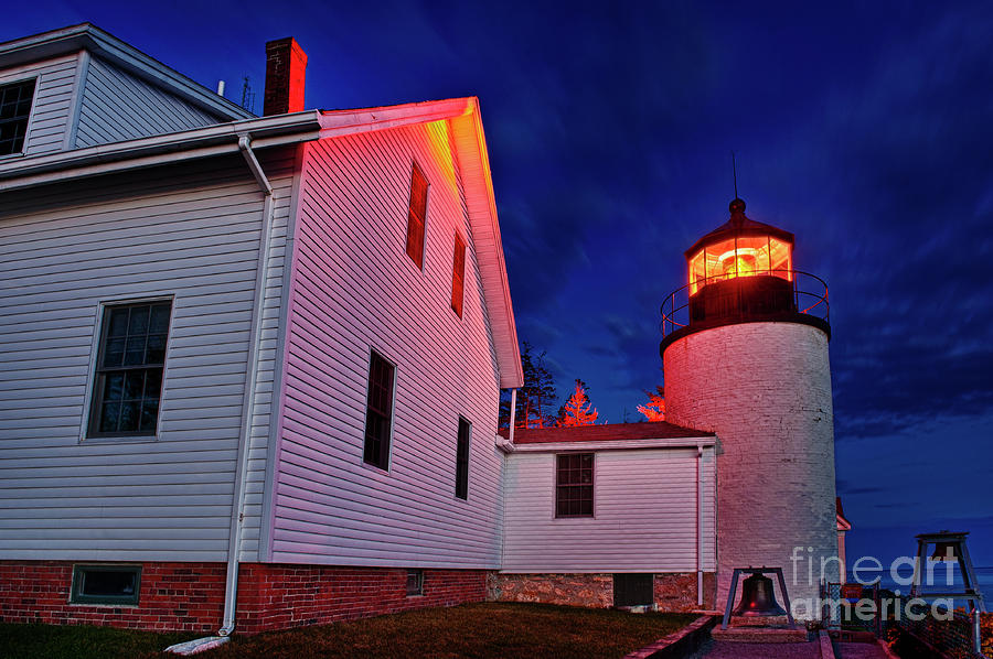 Bass Harbor Lighthouse Maine Photograph