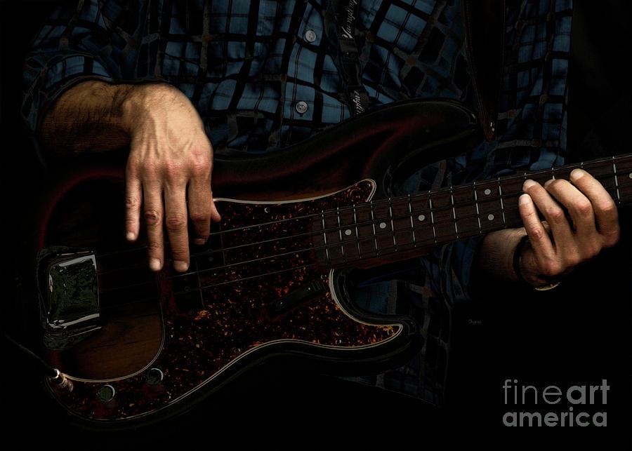Bass Side Blues Photograph