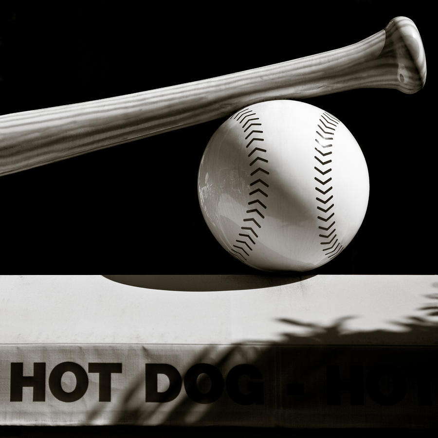 Bat And Ball Photograph  - Bat And Ball Fine Art Print