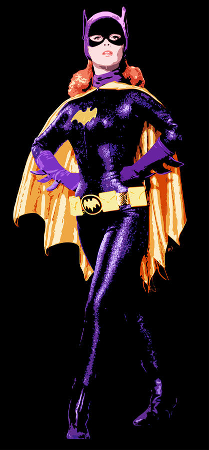 Bat Girl Digital Art