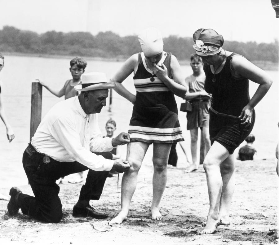 Bathing Suits, 1922 Photograph
