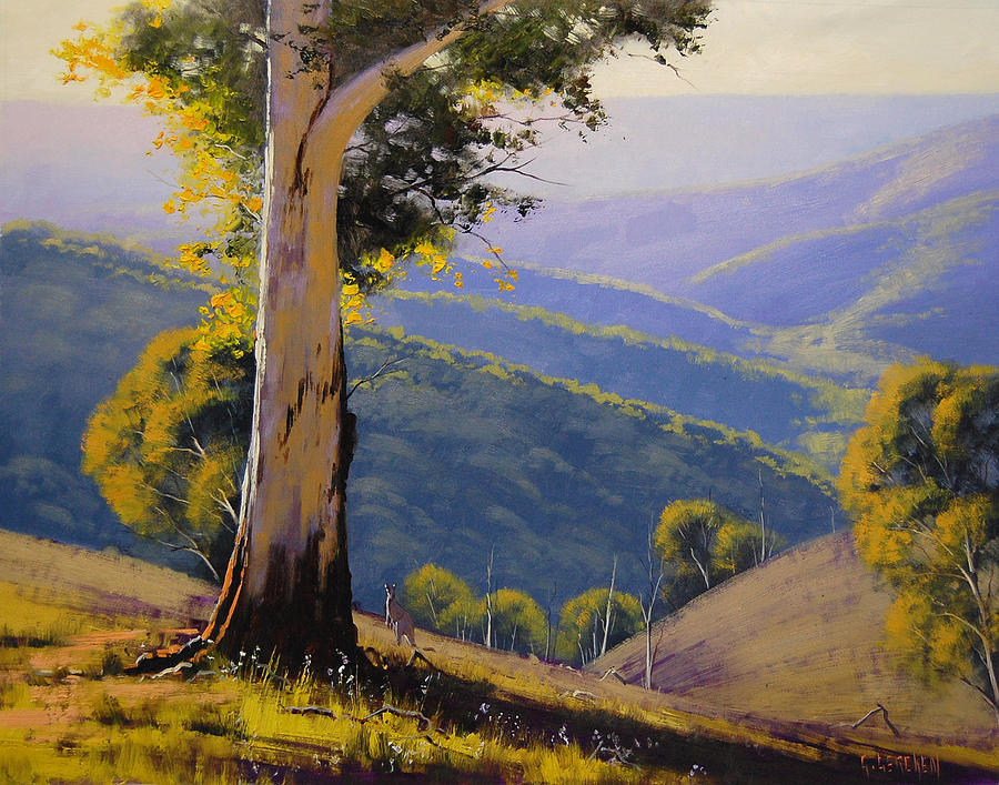 How To Paint Gum Trees In Acrylic