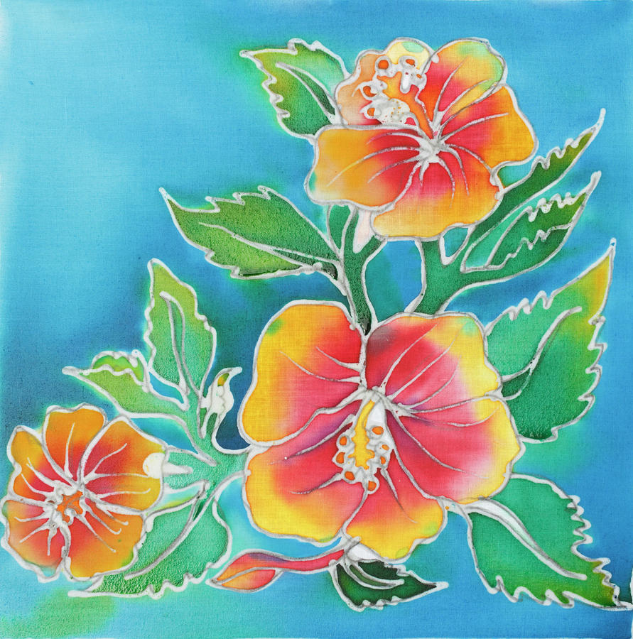 Hibiscus Batik By Suppattra, Via Http://images