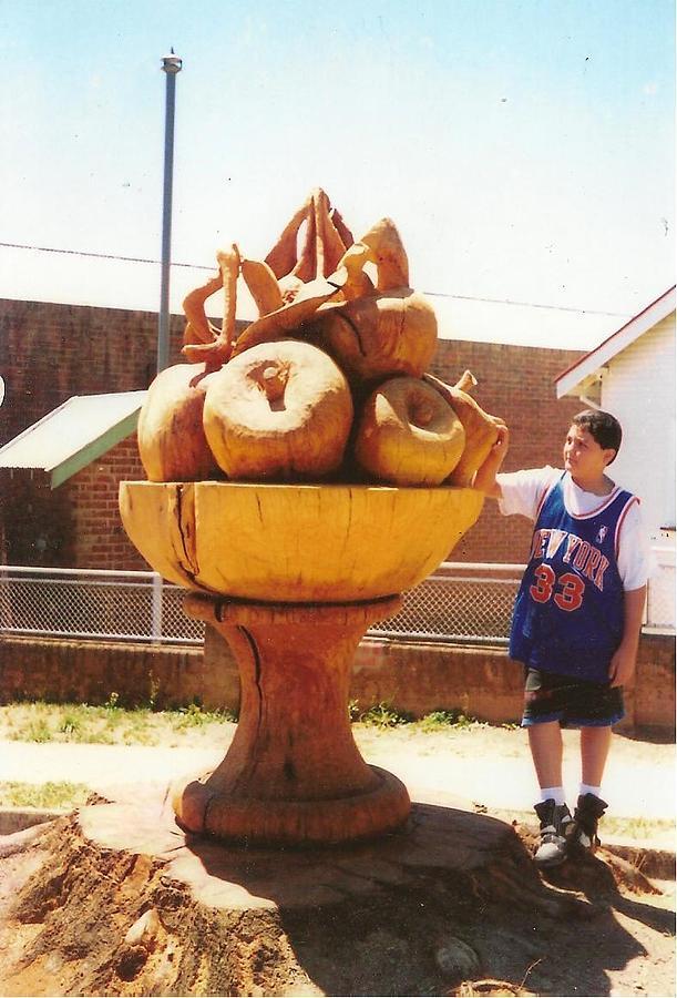 Fruit Sculpture - Batlow Fruit Bowl by Fred Alwahan