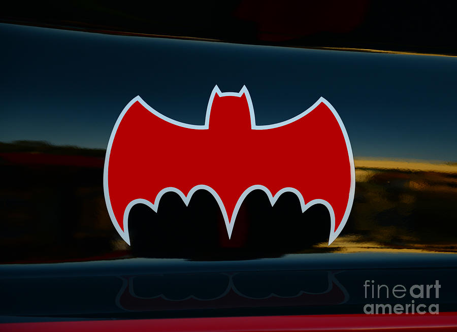 Batman - Batmobile - Dark Knight Photograph