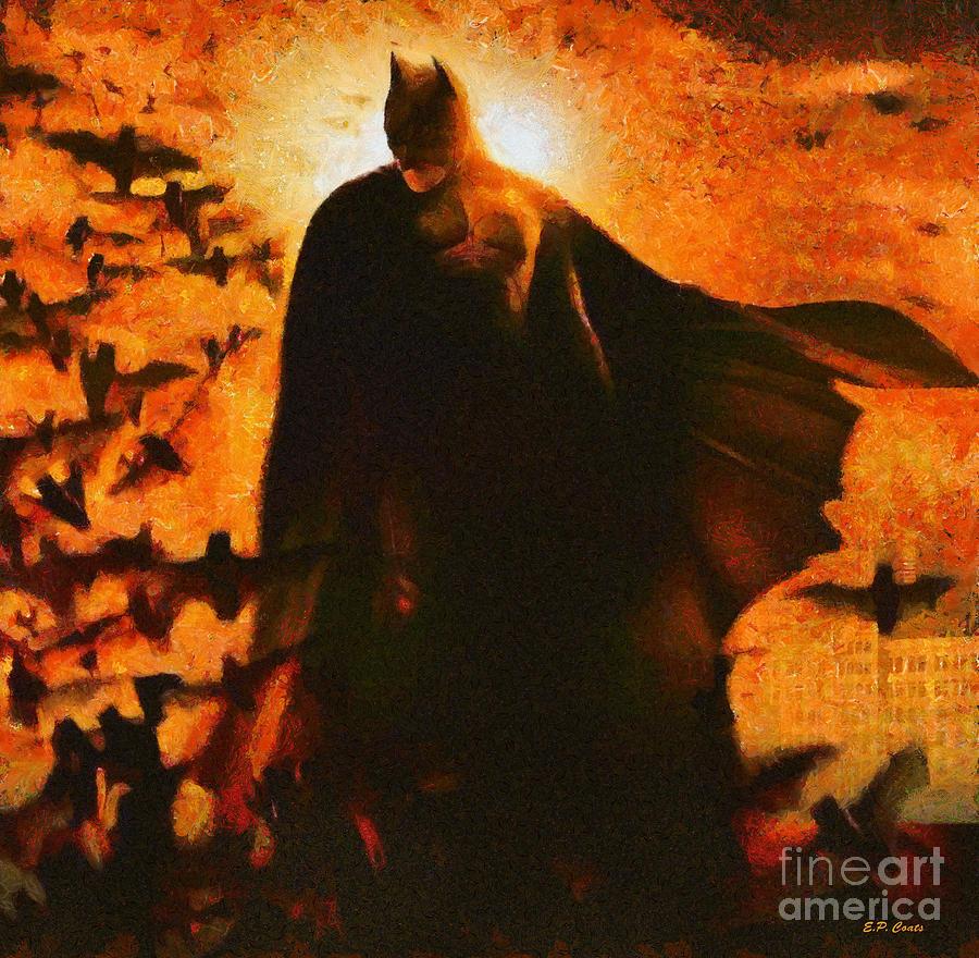 Batman Painting
