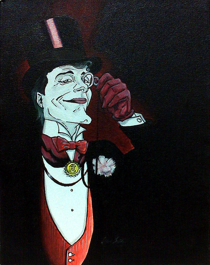 Batman No429 Joker After Mignola Painting  - Batman No429 Joker After Mignola Fine Art Print