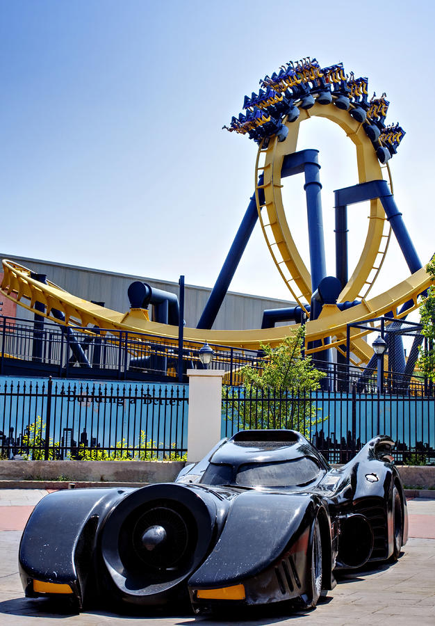 Batmans Ride And Batman - The Ride Photograph  - Batmans Ride And Batman - The Ride Fine Art Print