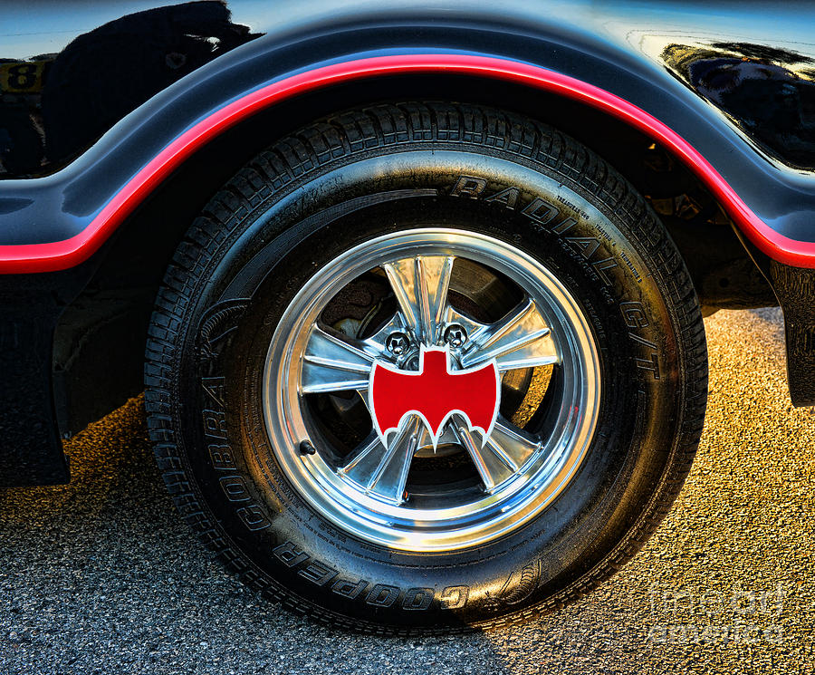 Batmobile - 3 Photograph  - Batmobile - 3 Fine Art Print