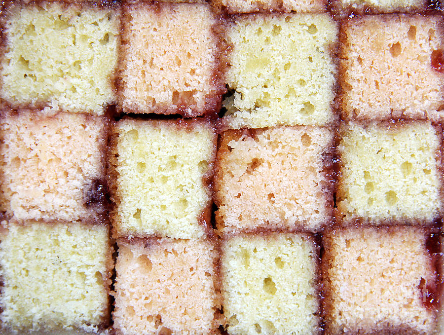 Battenburg Cake Photograph