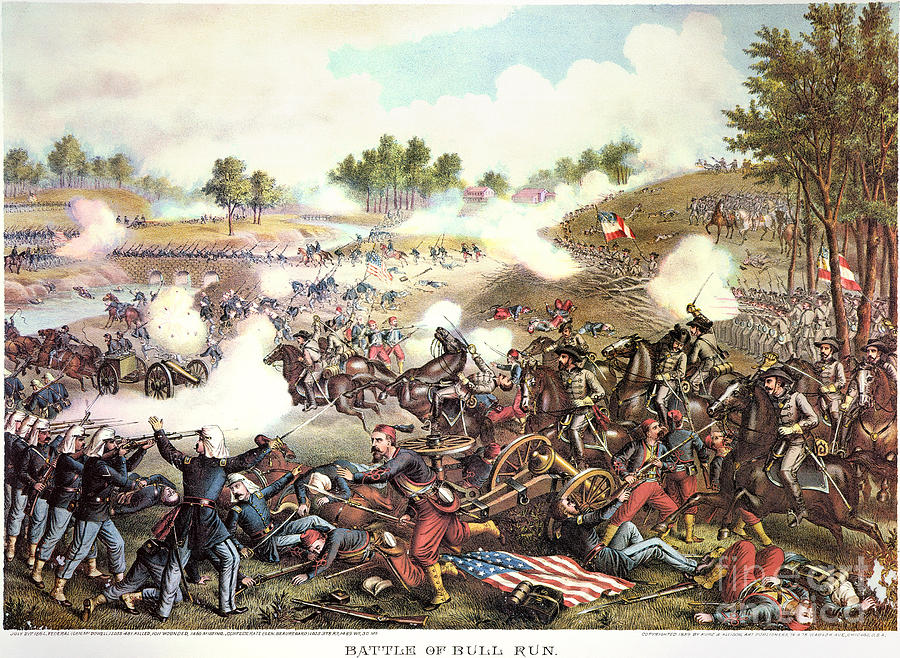 an overview of the actual battle of bull run Facts about major battles - 1st major skirmish/small battle that started the war - no casualties facts about 2nd bull run-lee attacks.
