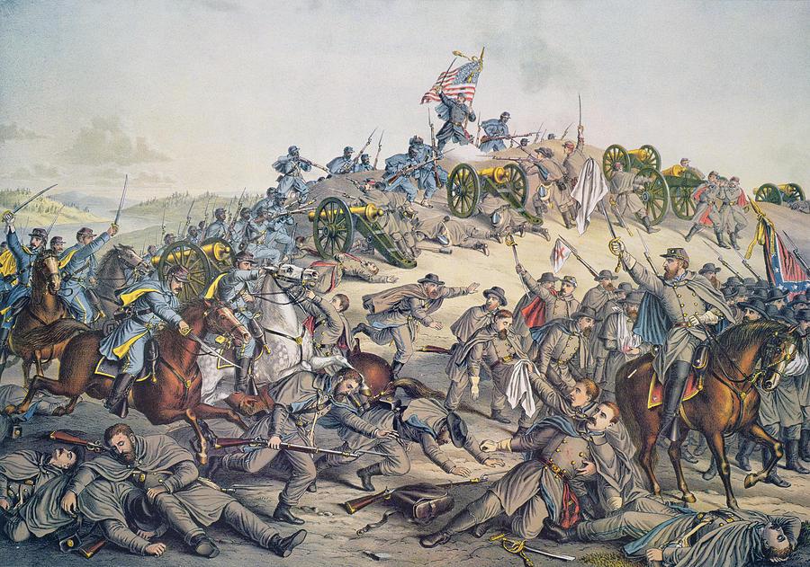 Battle Of Nashville December 15-16th 1864 Painting