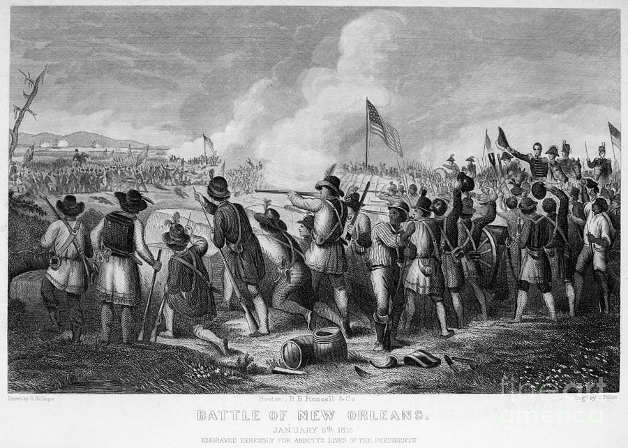 Battle Of New Orleans Photograph