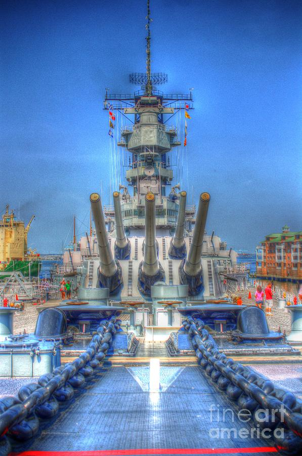 Battleship Photograph