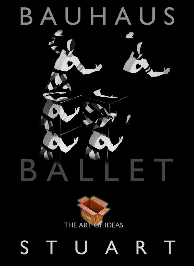 Bauhaus Ballet Black Photograph