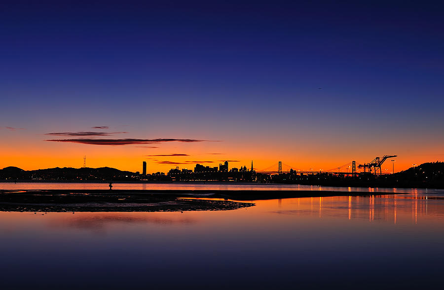 Bay Area Sunset Photograph  - Bay Area Sunset Fine Art Print