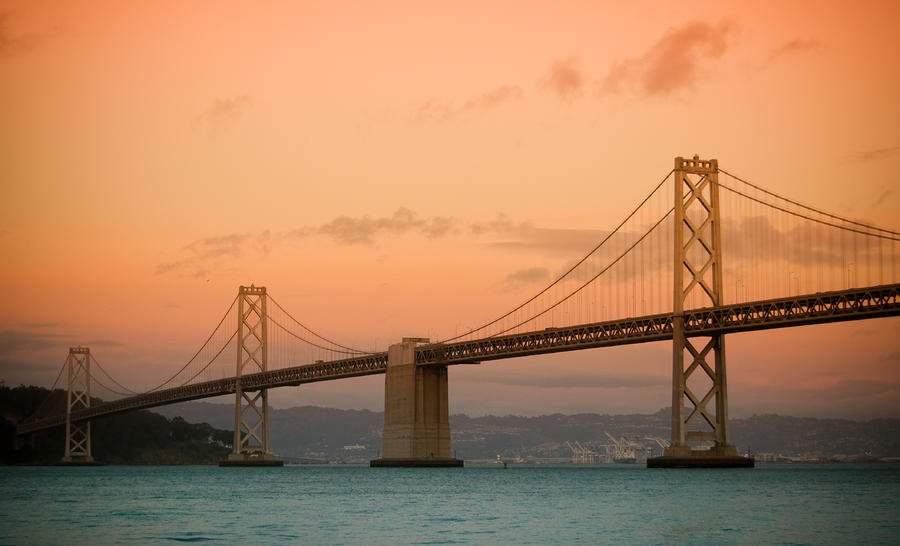 Bay Bridge Photograph  - Bay Bridge Fine Art Print