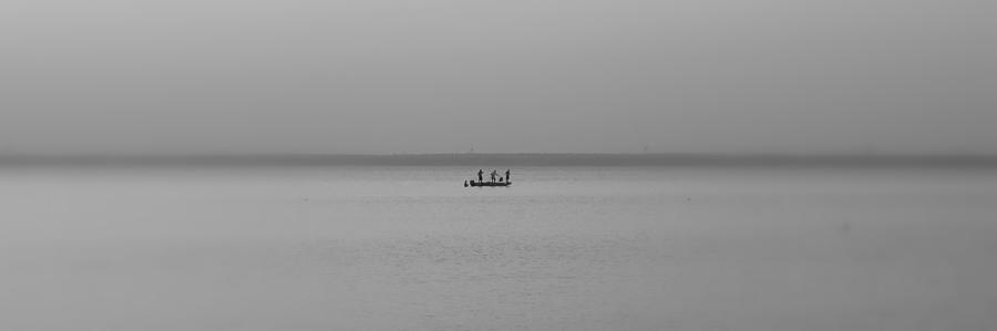 Bay Fishing Photograph  - Bay Fishing Fine Art Print