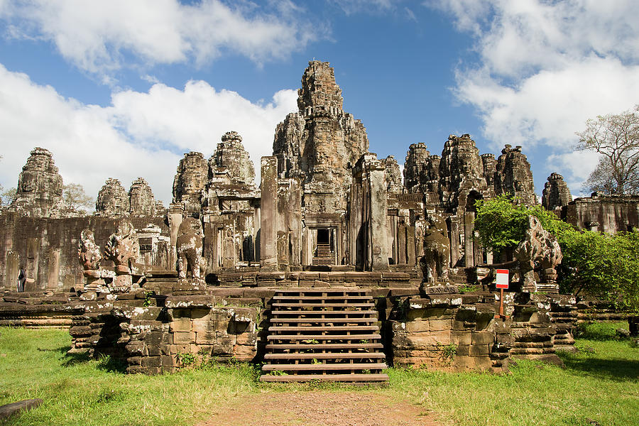 Bayon Temple In Cambodia Photograph by Artur Bogacki
