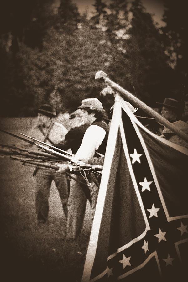 Infantry Photograph - Bayonet Charge by Jonathan Bateman