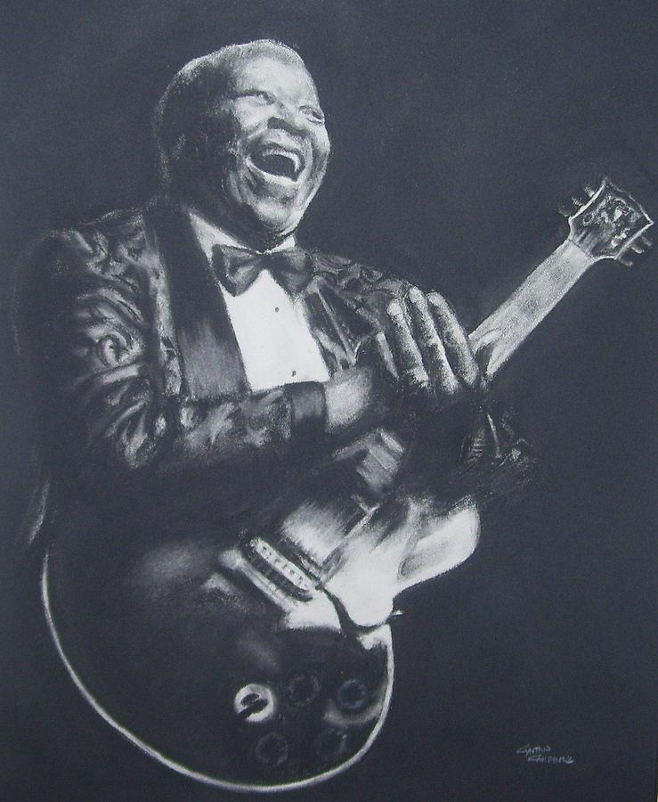 Bb King Drawing