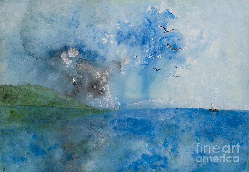 Be Still And Know Painting  - Be Still And Know Fine Art Print