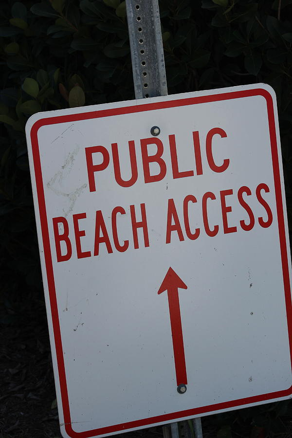 Beach Access Photograph