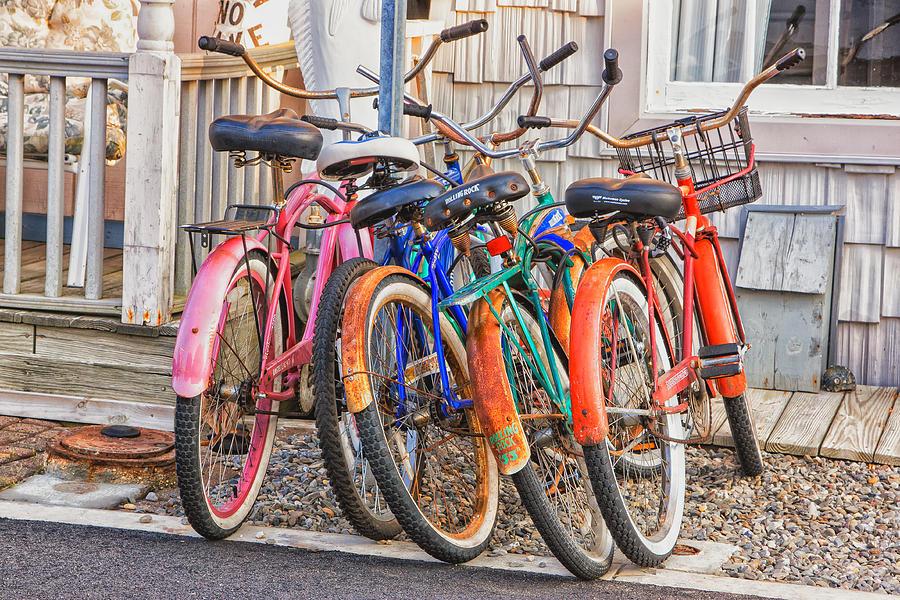 Beach Bikes Photograph