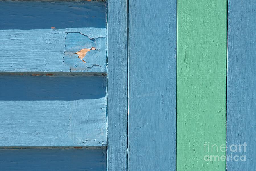 Beach house light blue and mint green ii photograph by hideaki sakurai - Light blue and mint green ...
