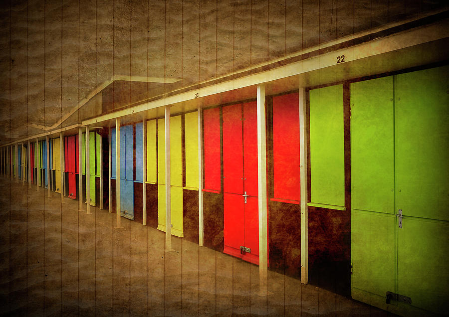Beach Huts Photograph  - Beach Huts Fine Art Print