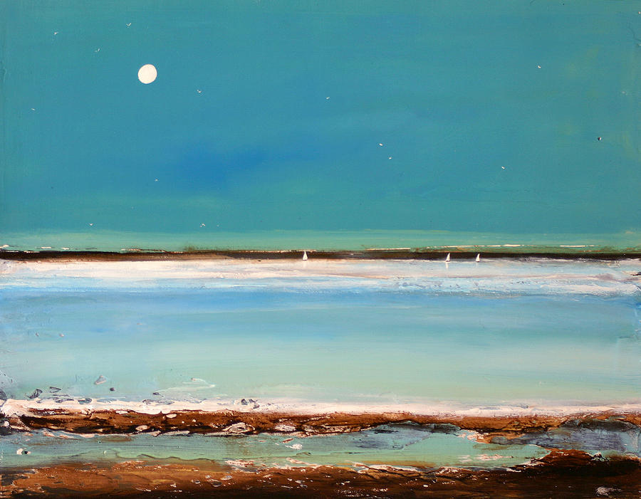 Beach Textures Painting