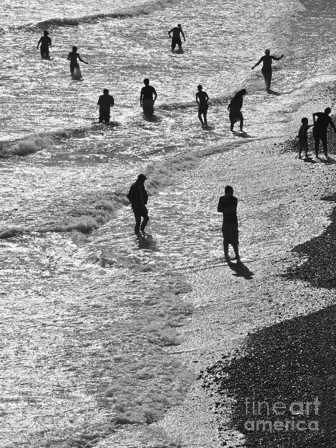 Beach Walkers 2 Photograph