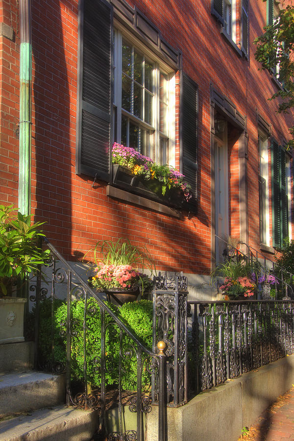 Beacon Hill Sidewalks Photograph