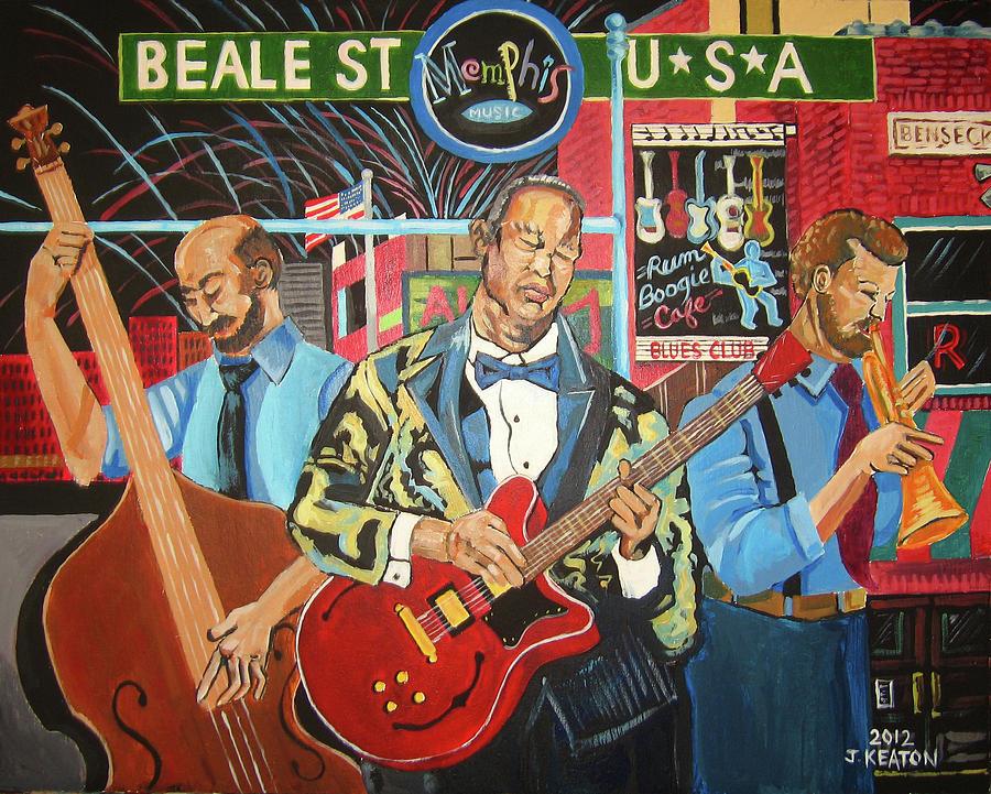 Beale Street Painting