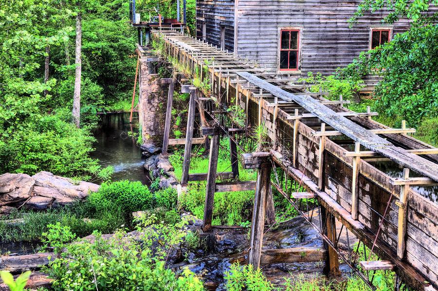 Beans Sawmill Photograph