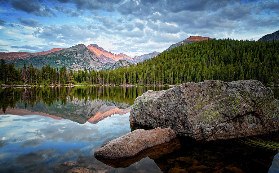Bear Lake Rocky Mountain National Park 3172  Photograph  - Bear Lake Rocky Mountain National Park 3172  Fine Art Print