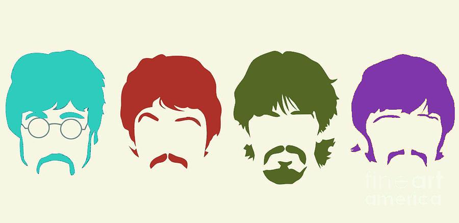 Beatles Digital Art