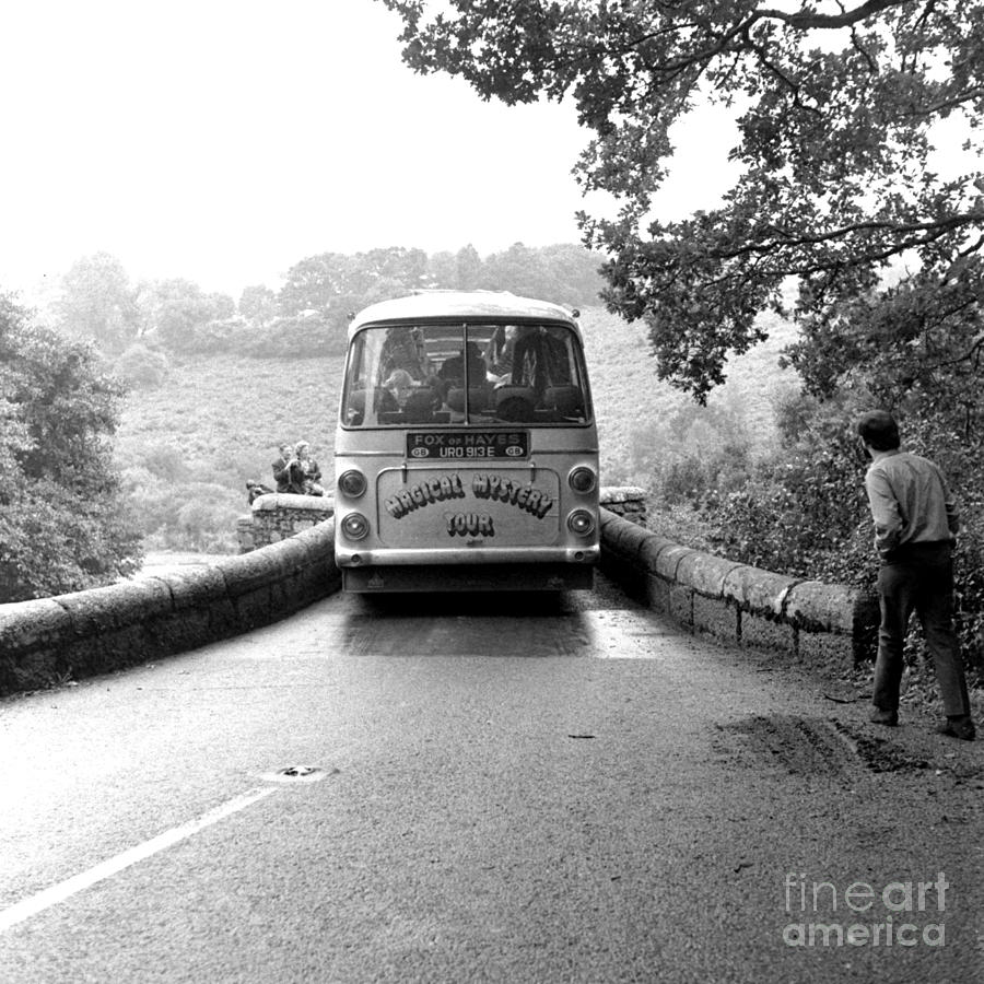 Beatles Magical Mystery Tour Bus Photograph