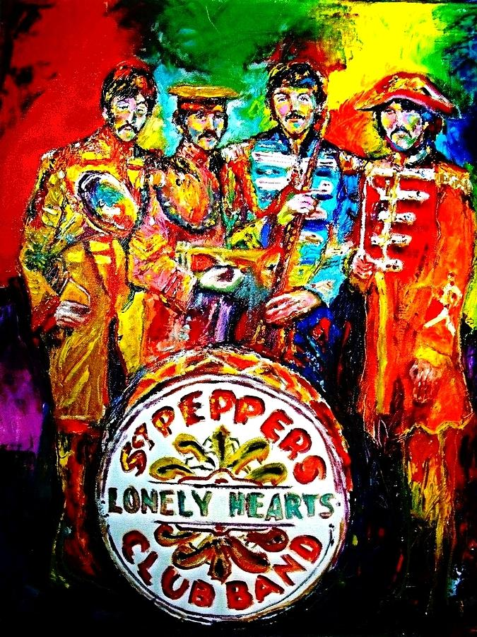 Beatles Sgt. Pepper Painting