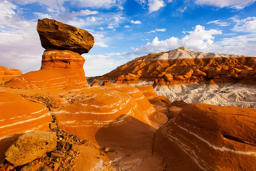 Grand Staircase Escalante National Monument Photograph - Beautiful Badlands by James Marvin Phelps
